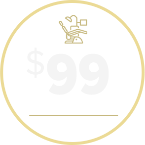 $99 Exam and X-Rays coupon