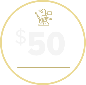 $50 off dental treatment