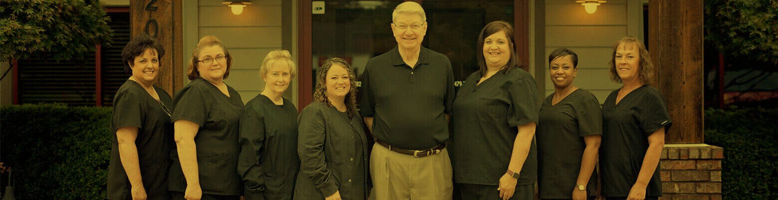 dental team photo in in Fort Smith Arkansas 2