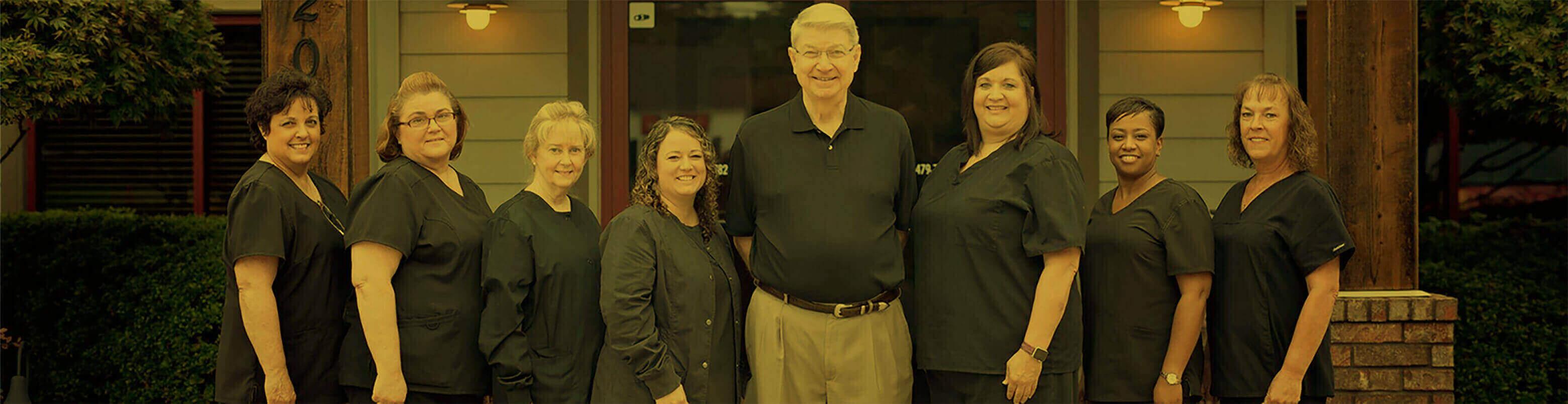 dental team photo in in Fort Smith Arkansas